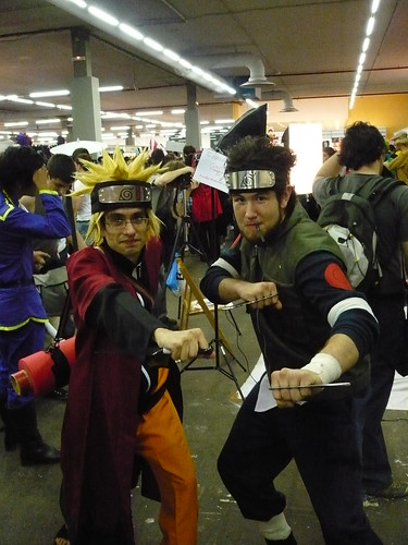 Naruto y Asuma