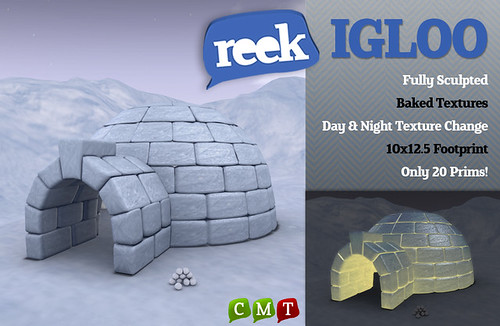 Reek - Igloo (Free Group Gift!)