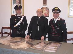 Carabinieri recuperano documenti storici