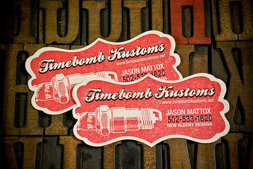 Business Card for: Timebomb Kustoms