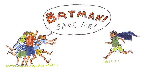 Illustration Friday: Rescue