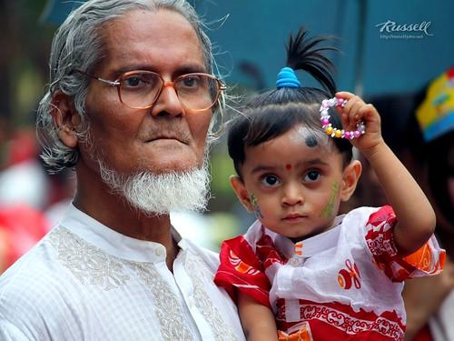 Boishakhi Celebrations: Snap I (by Russell John)