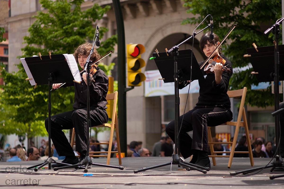 Música para el futuro - violines
