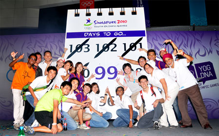 The CEP team reminds us it's... 99 days to go!
