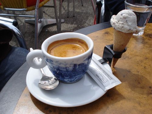 Coffee and Icecream