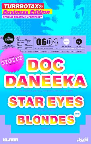 June TURRBOTAX TURBOTAX Delorean Brooklyn Doc Daneeka Star Eyes Blondes