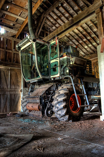 Tractor-in-a-Barn