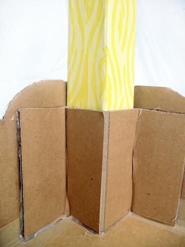 Cardboard Play Table