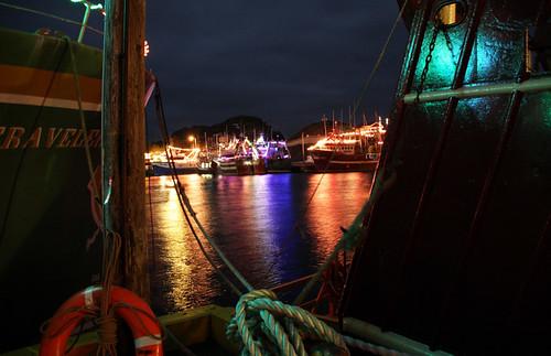 Glowing Water - Port de Grave