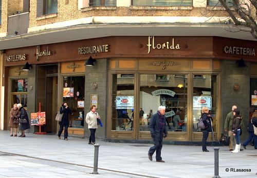 Cafetería Florida, en la Avenida de Carlos III de Pamplona
