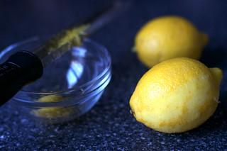 zest, not juice
