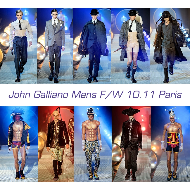 John Galliano Mens FW 10