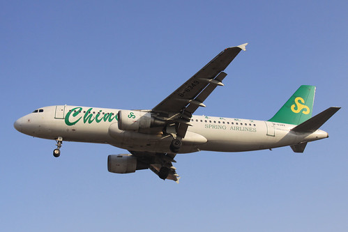 Spring Airlines A320-200(B-6349)