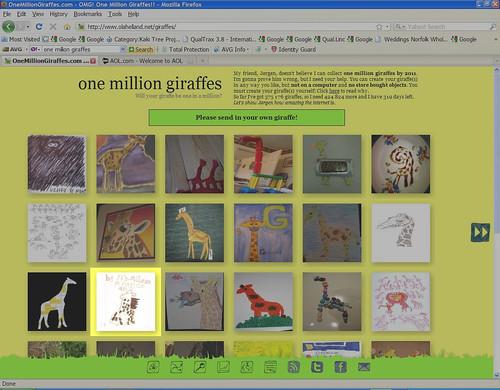 MalenaOneMillionGiraffes
