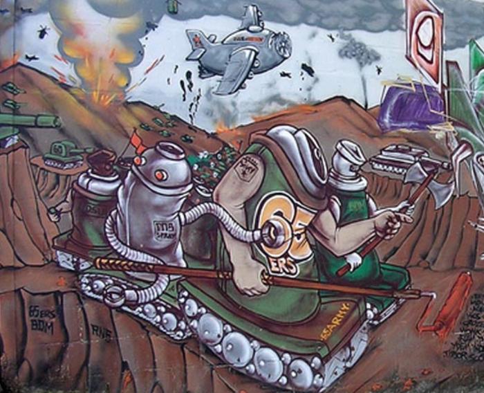 graffiti guadeloupe 65ers