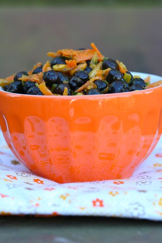 Black Chickpea and Carrot Salad 3