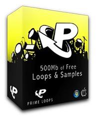 PrimeLoops 500MB Free Loops & Samples