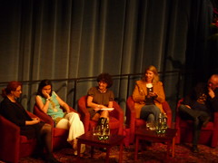 Writers on stage