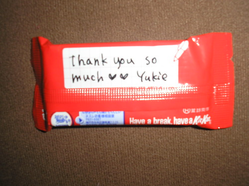 Kit Kat from Yukie