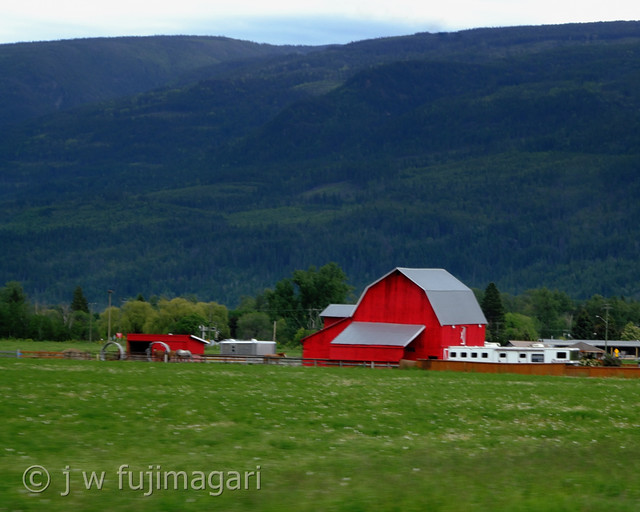 Red Barn, Green Grass