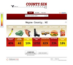 Cool Toys pics of the day: County Sin Rankings...