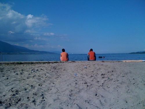 Ich am See