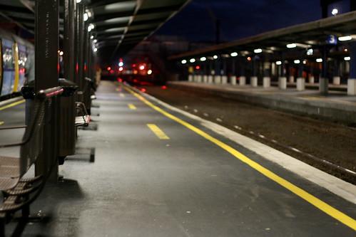 Friday: Sir C Away, I catch the train