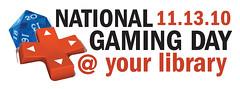 National Gaming Day logo