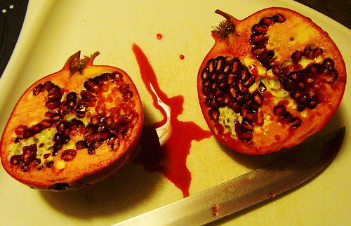 Halloween Pomegranate 2