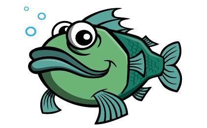 O rybce co w zamku siedziała