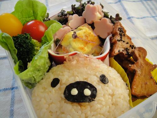 Monokuro-boo Bento