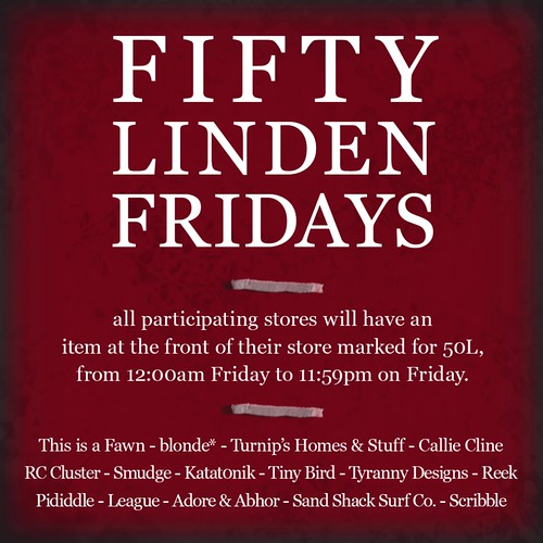 Fifty Linden Friday 20