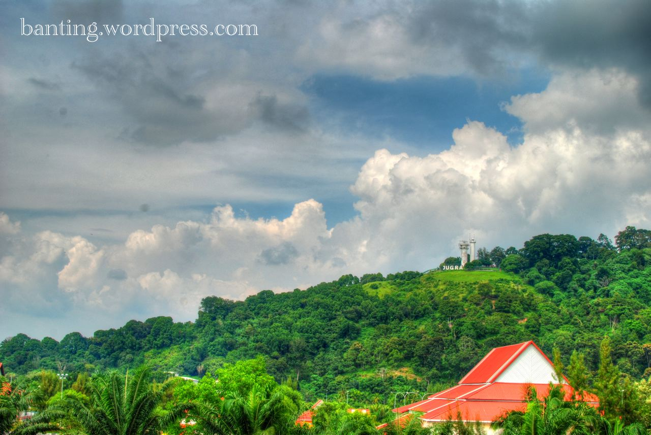 Bukit Jugra in HDR