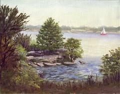Grapevine Lake - 8x10