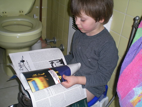 new yorker on the potty