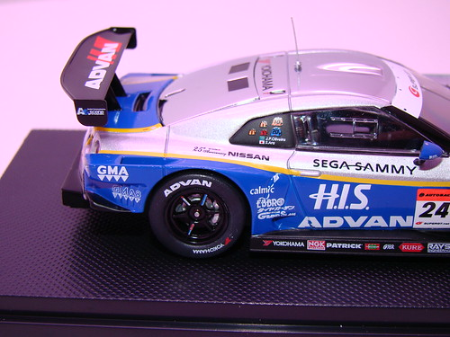 EBBRO HIS ADVAN KONDO GT-R SUPER GT 500 2009 RD.7 FUJI (7)
