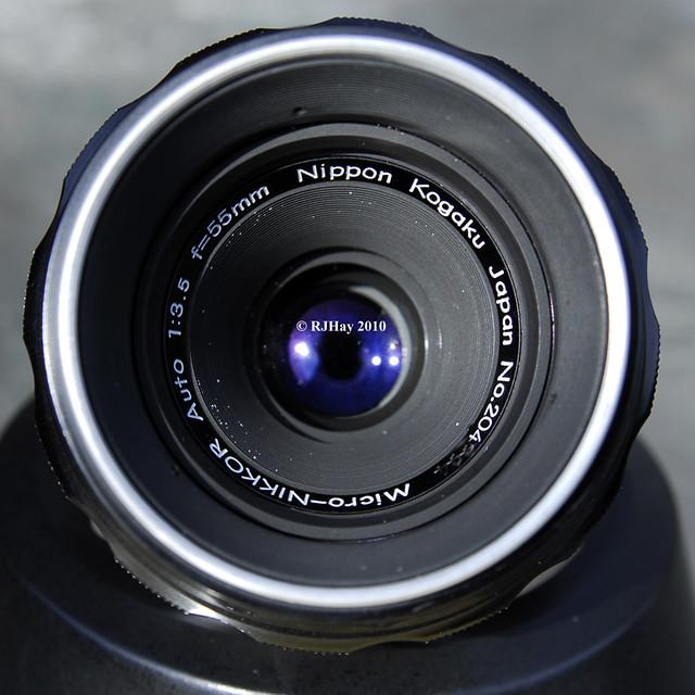 Nippon Kogaku (Nikon) 55mm f3.5 Micro-Nikkor