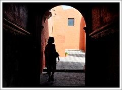 Walking silhouette