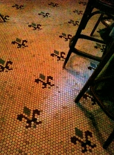 Fanelli's Cafe Floor NYC