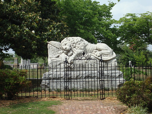 Lion of the Confederacy, Oakland Cemetery, Atlanta GA