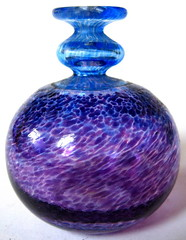 Kosta Boda (Sweden) Small Glass Vase by Bertil Vallien