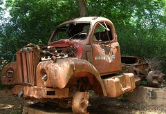 Rusty B-61 Mack Truck in Farmington, Georgia