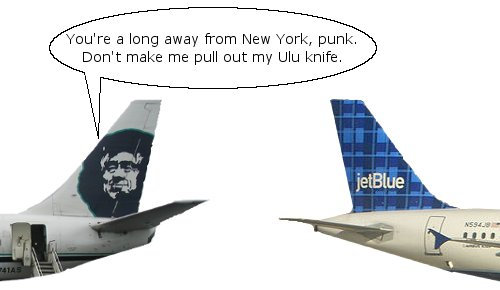 JetBlue Goes to Anchorage