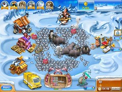 Farm Frenzy 3 Ice Age game screenshot