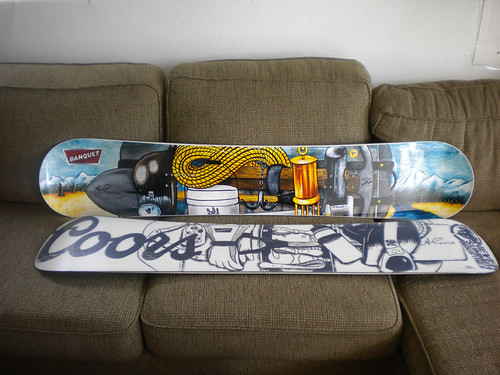 Coors Snowboards I designed