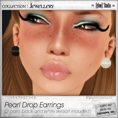 [ glow ] studio - pearl drop earrings