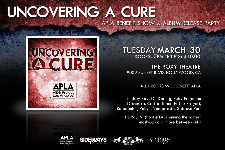 ROBOTANISTS: APLA Benefit show @ The Roxy / Los Angeles, CA - 3.30.10