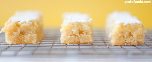 Lemon Squares… Bars!