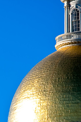 Gold Statehouse Dome