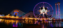 New Paradise Pier Panoramic at Dusk, Disney's ...